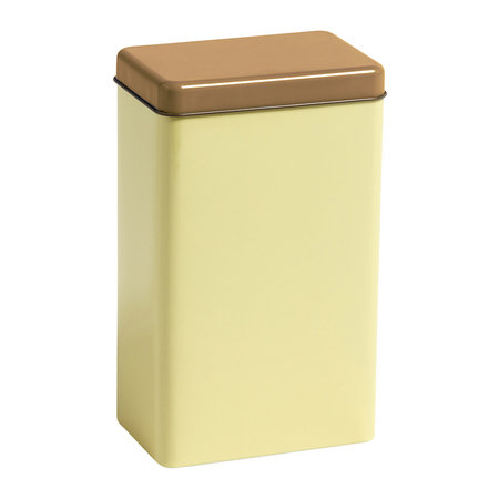 HAY - Bright Storage Tin by Sowden - Yellow