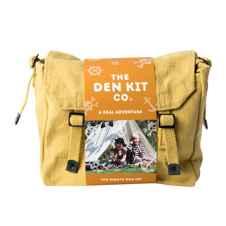 "The Den Kit Co - ""Mach deine eigene Bude""-Kit für Kinder - Pirat"