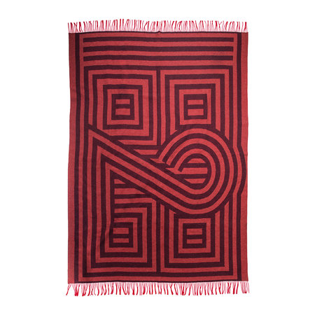 Zoeppritz since 1828 - 1828 Fringed Blanket - Rust