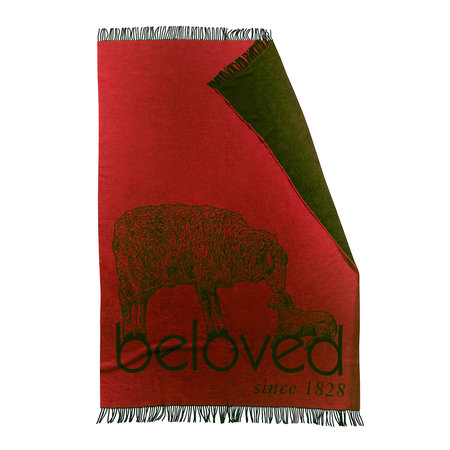 Zoeppritz since 1828 - Bah Beloved! Blanket - Rust