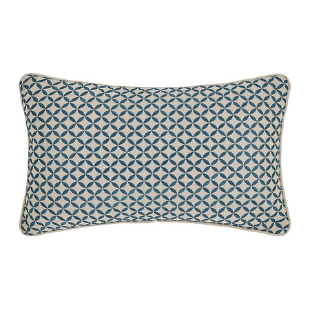 Christy - Penzance Pillow - 30 x 45cm - Peacock