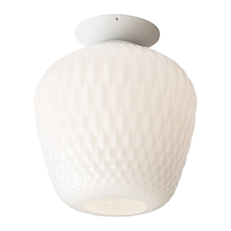 &Tradition - Blown Ceiling Pendant Light SW3 - Opal