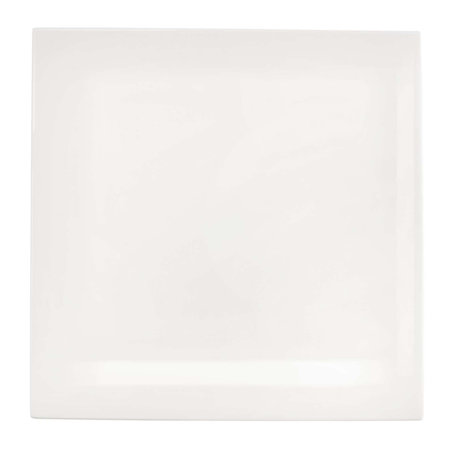 ASA Selection - Table Square Plate - White - Lunch Plate