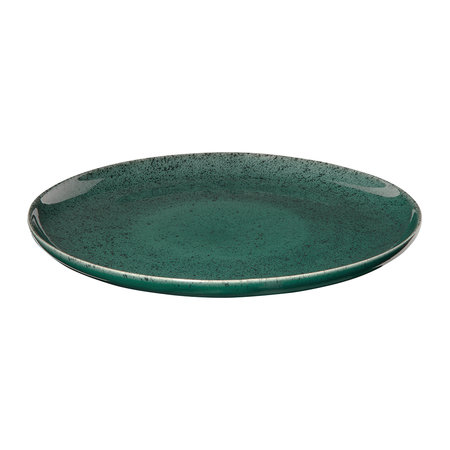 ASA Selection - Seasons Specked Plate - Green - Dinner Plate