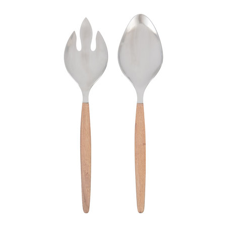 A by AMARA - Acacia Wood Salad Sever - Set of 2