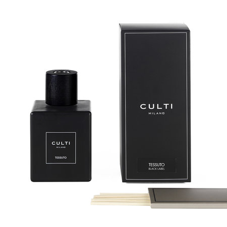 Culti - Black Label Reed Diffuser - Tessuto - 500ml