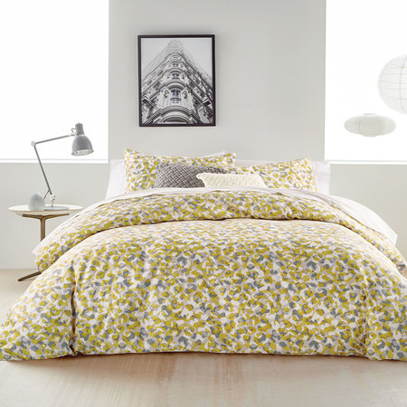 DKNY - Wild Geo Quilt Cover - Ochre - Double