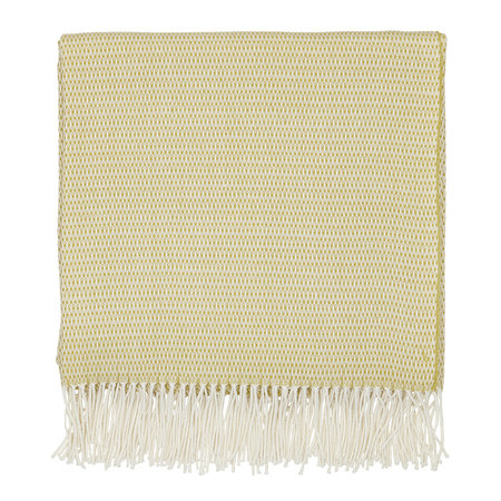 Sanderson - Coraline Woven Throw - Chartreuse