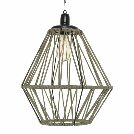 A by AMARA Outdoors - Outdoor Rope Ceiling Light - Sand