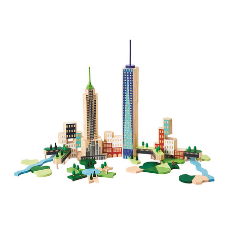Areaware - Blocs de Construction Blockitecture - New York La Grosse Pomme