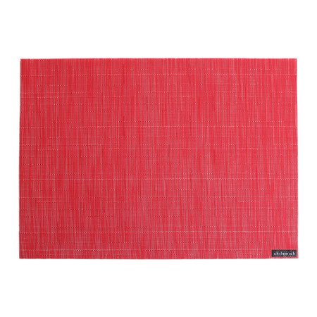 Chilewich - Bamboo Rectangle Placemat - Poppy