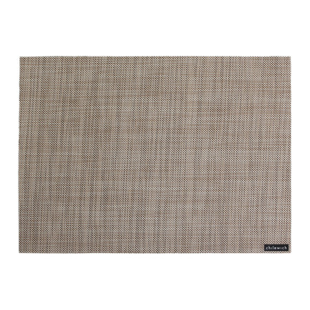 Chilewich - Mini Basketweave Rectangle Placemat - Linen