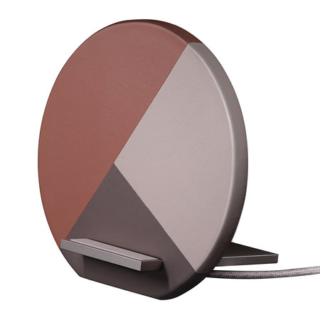 Native Union - Dock Marquetry Wireless Charger - Rose