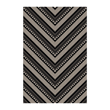 BEAUMONT - Arrow Vinyl Floor Mat - 99x150cm