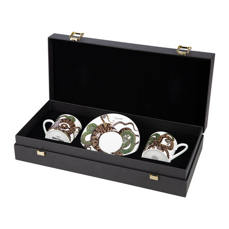 Roberto Cavalli - Snakes Regalo Coffee Cup and Saucer - Set of 2