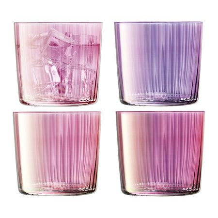 LSA International - Assorted Gems Tumbler - Set of 4 - Garnet - 310ml