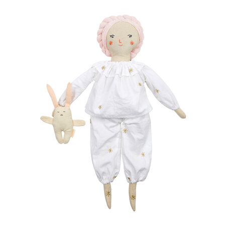 Meri Meri - Dolly Dress Up Set - Pyjamas & Bunny