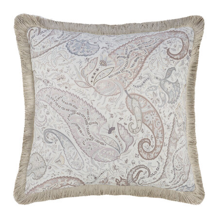 Etro - Avignone Montfavet Cushion with Piping - 45x45cm - Beige