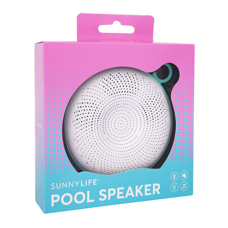 Sunnylife - Pool Speaker - White/Turquoise