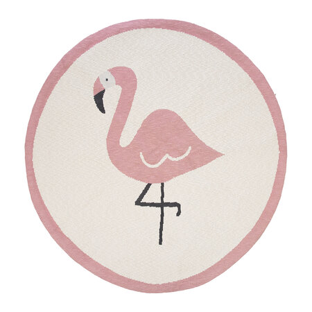 Retreat - Animal Rug - Flamingo