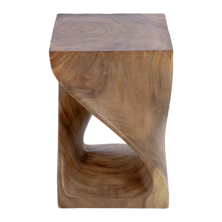 A by AMARA - Twisted Wooden Stool