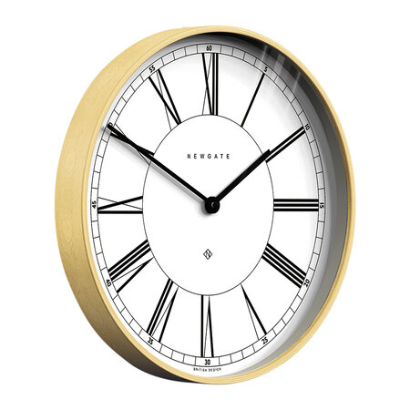 Newgate Clocks - Architect Wall Clock - White