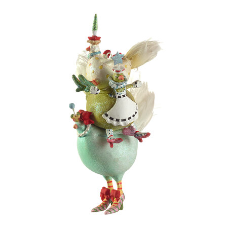 MacKenzie-Childs - 12 Days Tree Decoration - 3 French Hens