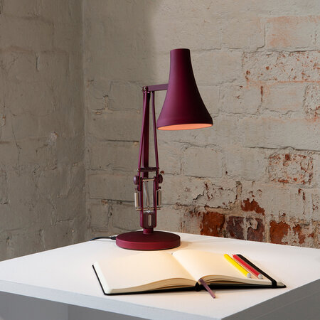 Anglepoise - 90 Mini Mini Desk Lamp - Berry Red