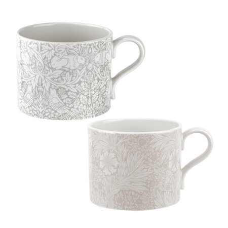 Morris & Co - Marigold and Brer Rabbit Mugs - Set of 2