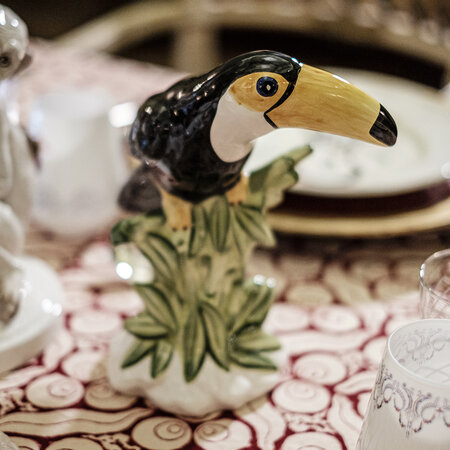 Les Ottomans - Toucan Candle Holders - Set of 2