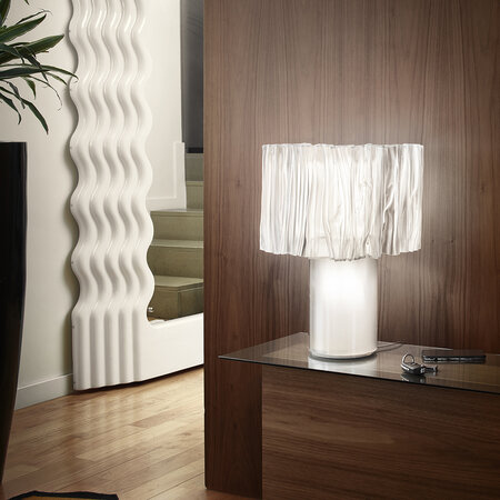 Slamp - Accordeon Table Lamp - White