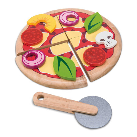 Le Toy Van - Pizza & Toppings Wooden Toy