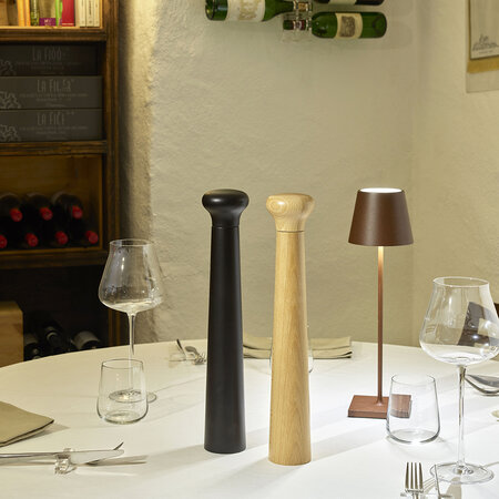 Legnoart - Charapita Salt & Pepper Mill - Natural