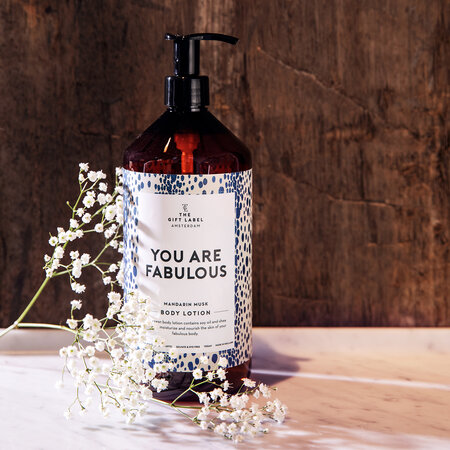 The Gift Label - Körperlotion - You Are Fabulous