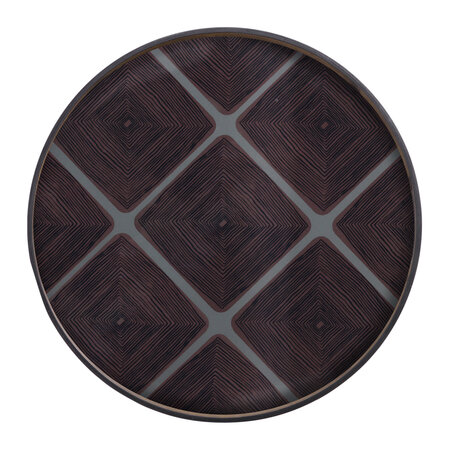 Ethnicraft - Slate Linear Squares Tray