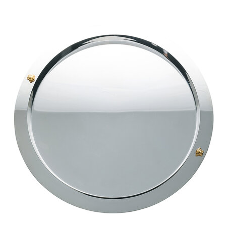 Versace Home - Bar Stainless Steel Round Tray