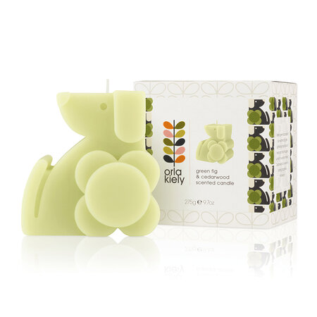 Orla Kiely - Dog Moulded Scented Candle