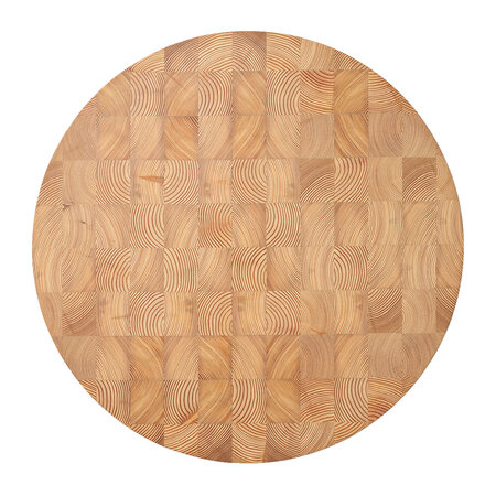 Ferm Living - Chess Cutting Board - Natural - Round Large