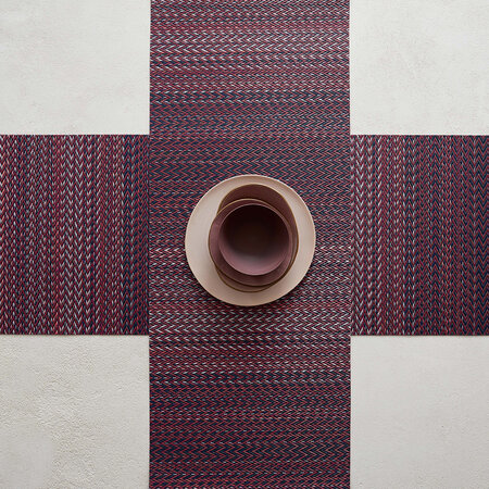 Chilewich - Quill Rectangular Placemat - Mulberry