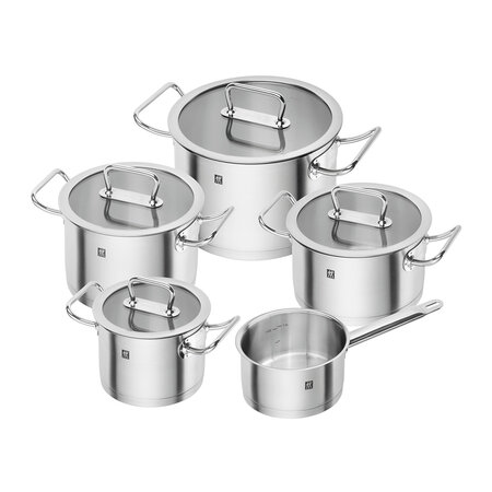Zwilling - Zwilling Pro Pot Set - Stainless Steel 5 Piece