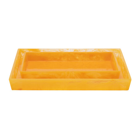 Pigeon & Poodle - Abiko Nested Tray - Set of 2 - Marigold