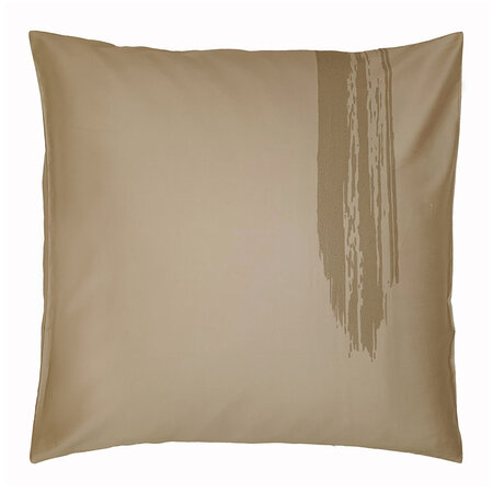 André Fu Living - Artisan Brush Pair Of Pillowcases - Dusty Bronze - 65x65cm