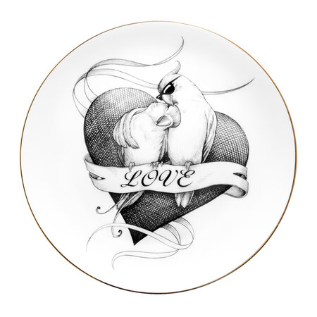 Rory Dobner - Perfect Plates - Loved Up Lovebirds