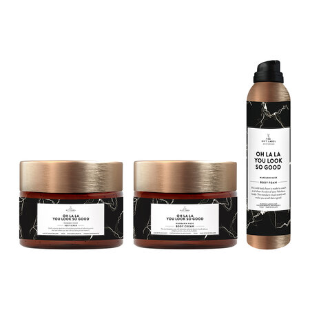 The Gift Label - Bodycare Collection Kerze - Oh La La you look so good
