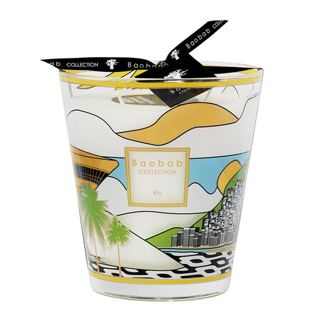 Baobab Collection - Cities Scented Candle - Rio - 16cm