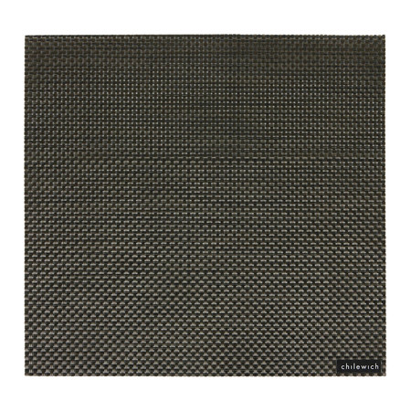 Chilewich - Basketweave Square Placemat - Chestnut