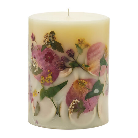 Rosy Rings - Rosy Rings 200 Hour Botanical Candle - Lemon Blossom & Lychee