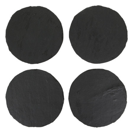 The Just Slate Company - Round Coasters - Set of 4