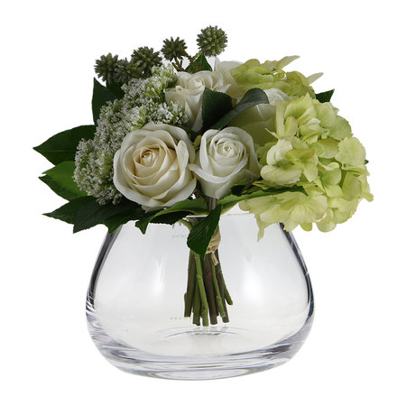 LSA International - Flower Clear Table Arrangement Vase - 11.5cm
