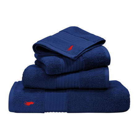 Ralph Lauren Home - Player Handtuch - Navy - Badetuch